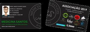 Cartões de Identificação Estudantil em PVC